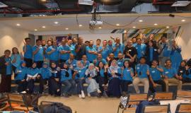 Seluruh peserta melakukan foto bersama dengan narasumber Capacity Building Creating Digital Leaders and Engaged Digital Team in Digital Transformation Era (16/12).