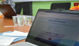 Hasil  ujian  CAT UNAR dapat dilihat lanbgsung oleh peserta ujian. Sebanyak sembilan peserta mengikuti UNAR berbasis CAT Tahap I Tahun 2020. Manado (18/1/2020).