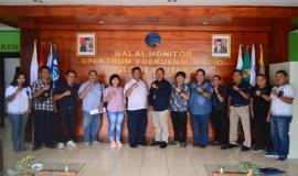 Salah satu peserta UNAR memebrikan  Testimoni ujian  CAT UNAR Tahap I Tahun 2020, Manado, 18/1/2020. Sebanyak sembilan peserta dinyatkan lulus UNAR berbasis CAT Tahap I Tahun 2020.